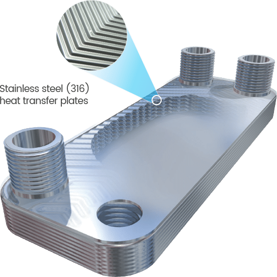 L-Line Heat Exchanger