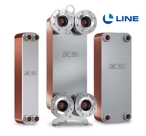 Brazed Plate Heat Exchanger Manufacturers | AIC - L-Line