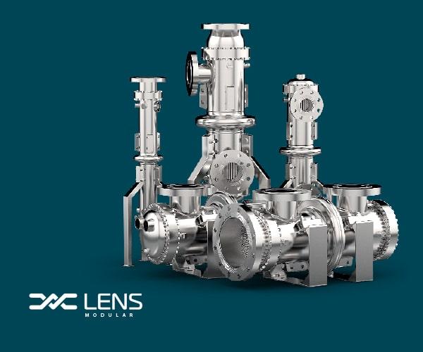 Lens Heat Exchangers