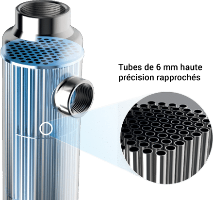 Shell and Straight Tube Heat Exchanger